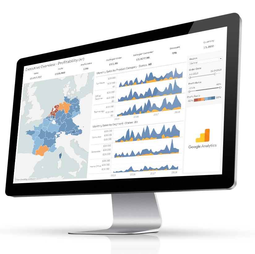 Dashboard Usage extension for Tableau to measure dashboard interactions with Google Analytics