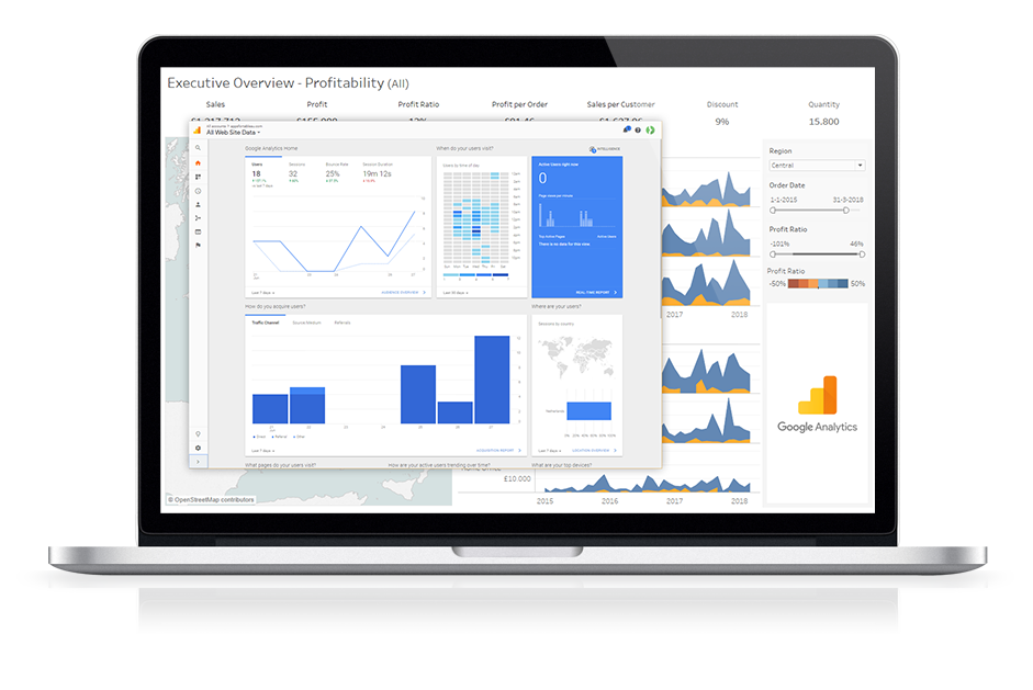 Dashboard Usage Tableau Extension - Use Google Analytics in your Tableau dashboards
