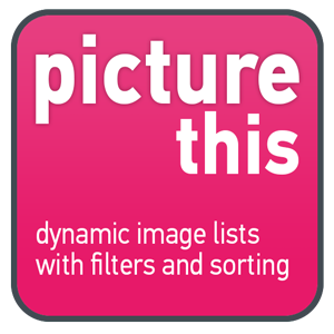 Picture This - Dashboard Extension to dynamically create image lists that support sorting and filtering in Tableau Dashboards
