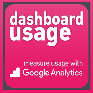 Dashboard Usage - Tableau Dashboard Extensions by AppsfroTableau to measure dashboard usage with Google Analytics