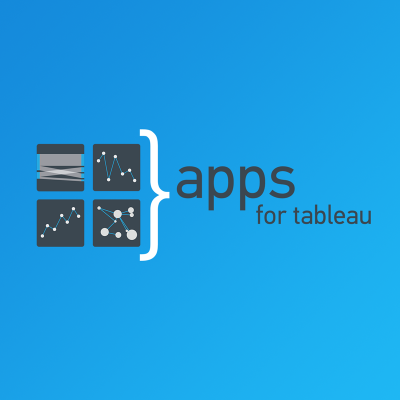 Get your Tableau Extensions now, we're live on AppsforTableau.com
