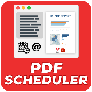 PDF Scheduler to send your Tableau Dashboards from multiple workbooks as a PDF file on the schedule