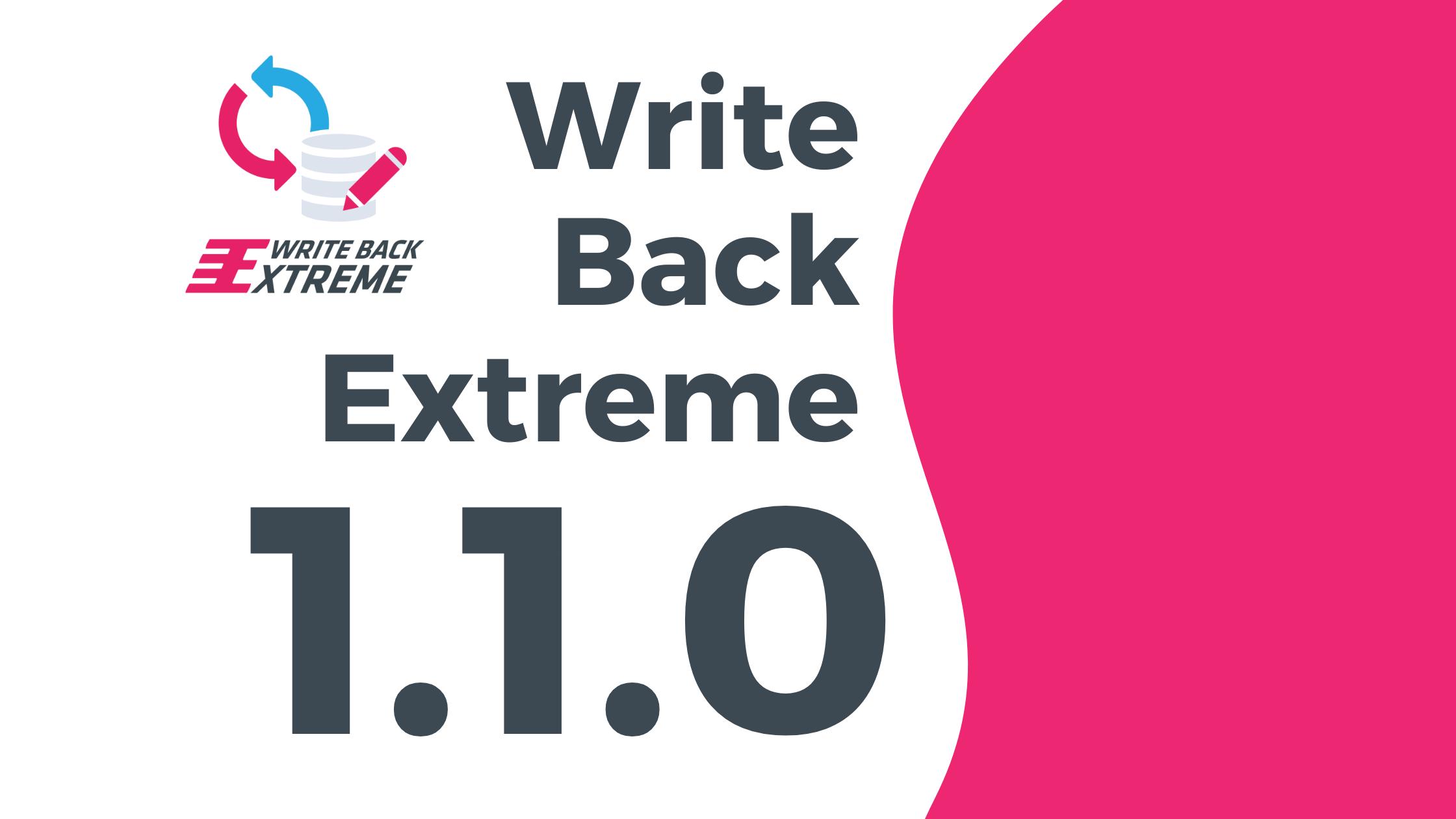 Write Back Extreme update