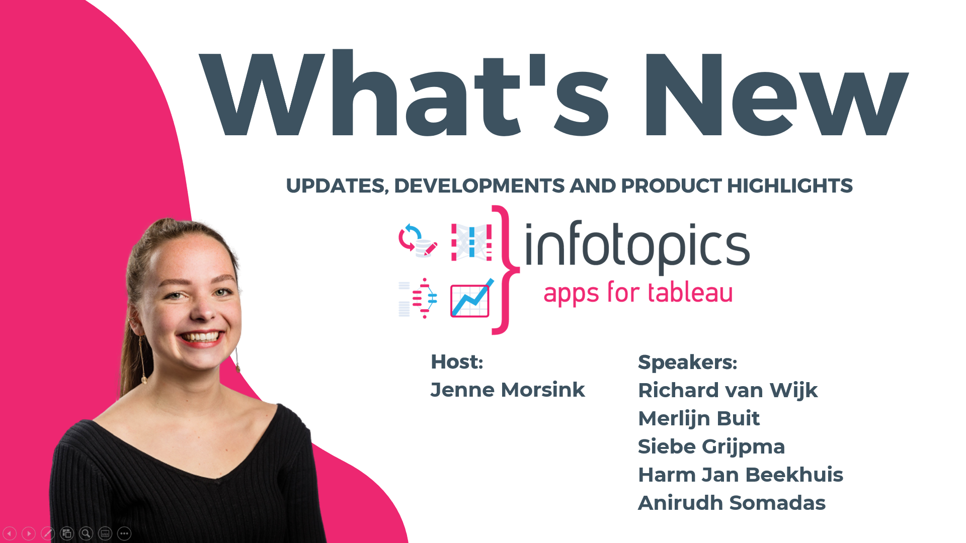 What's new in Infotopics | Apps for Tableau