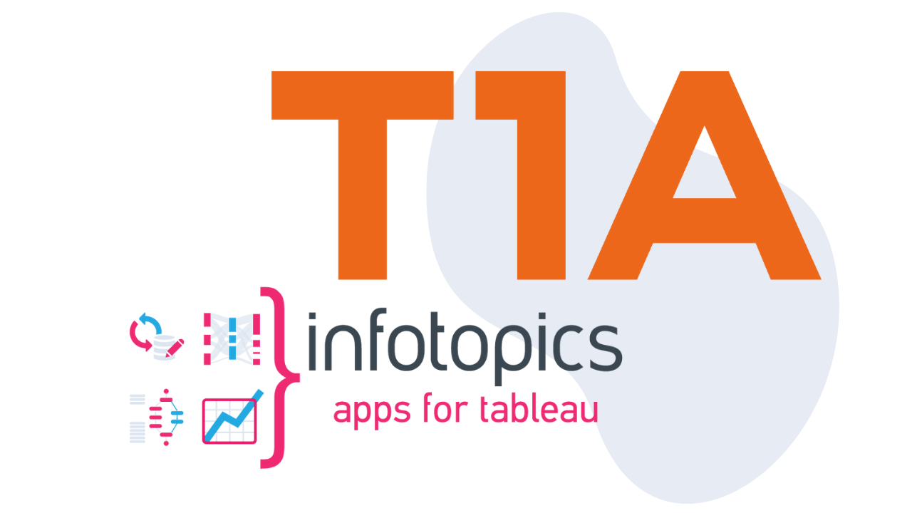 Infotopics | Apps for Tableau announces partnership with T1A